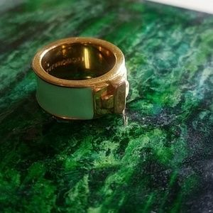 BCBG enamel ring